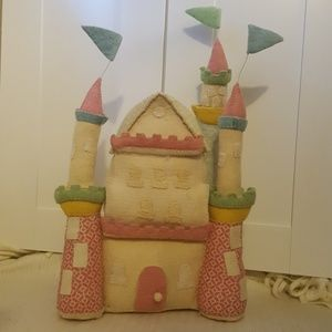 Decorative Hanging Castle Wool Felt Girl's Room
